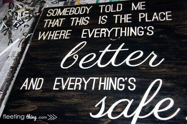 fleetingthing » Everything's better and everything's safe (downloadable stencil)