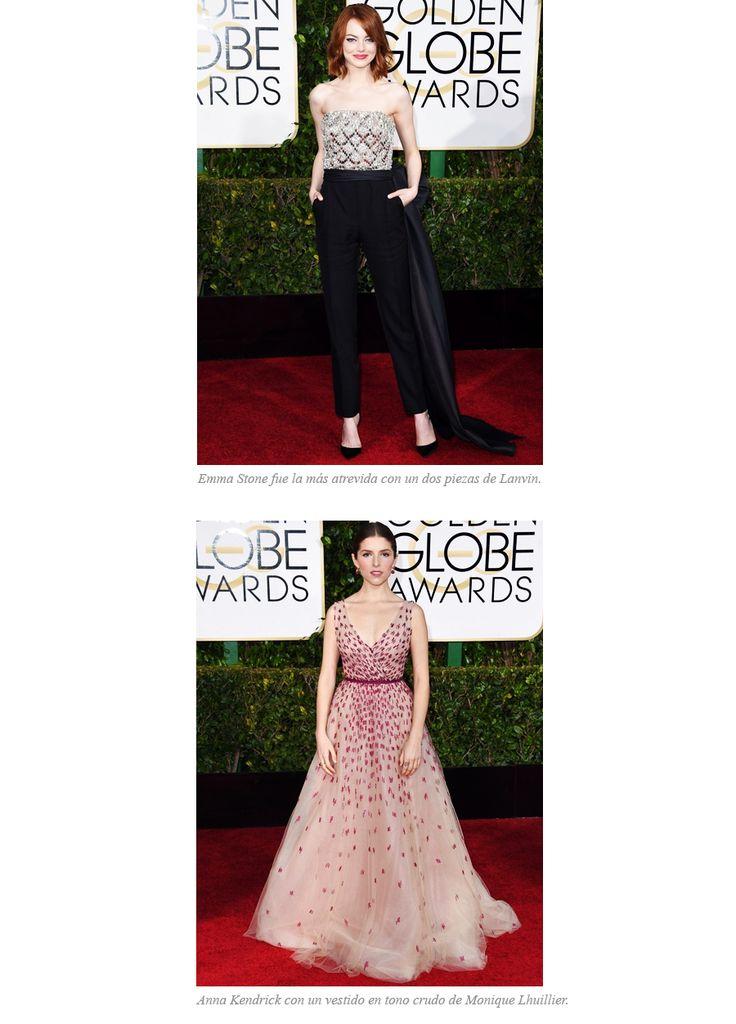Las mejor vestidas de los 'Golden Globe Awards 2015' | Cuidar de tu belleza es facilisimo.com
