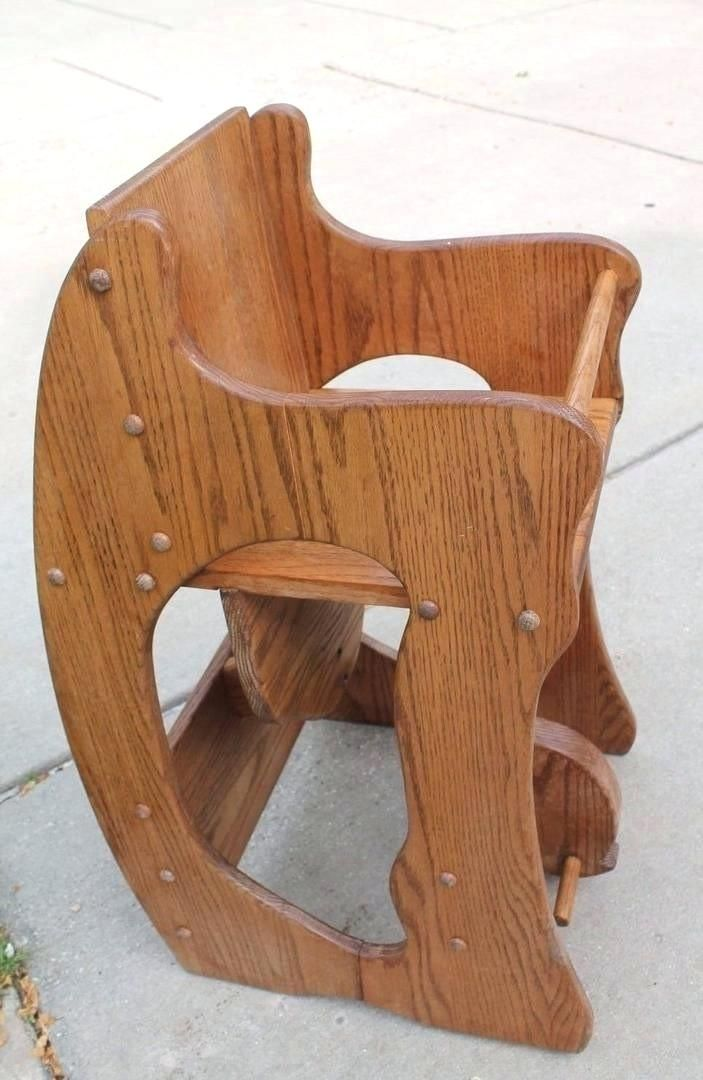 Shiny High Chair Rocking Horse Desk Images Elegant High Chair