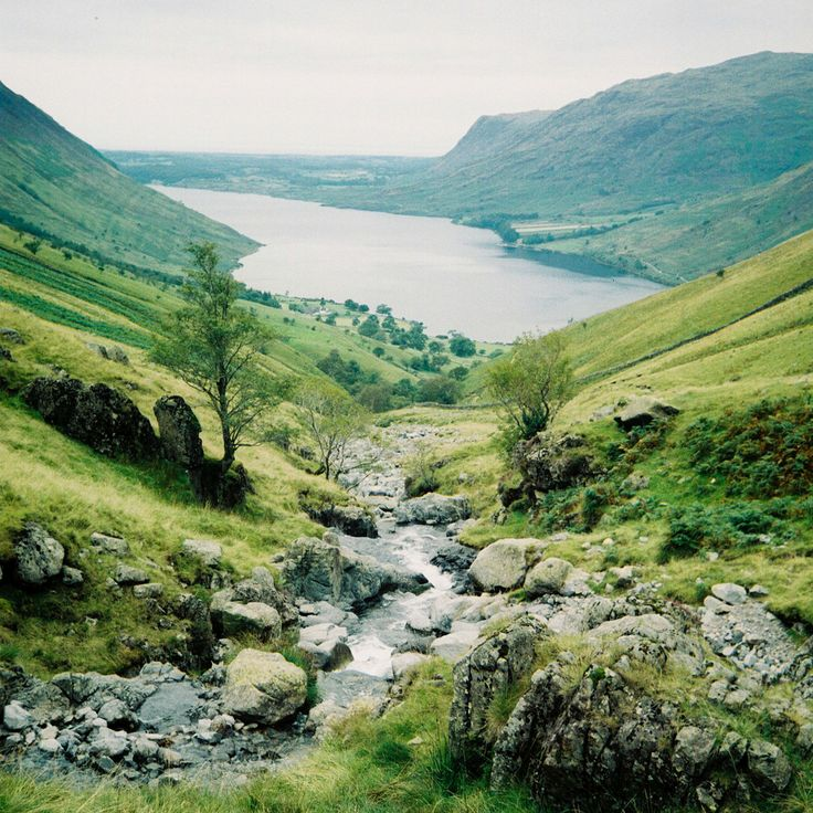 Climbing Scafell Pike/The View of Wast Water, Andrew David Marshall