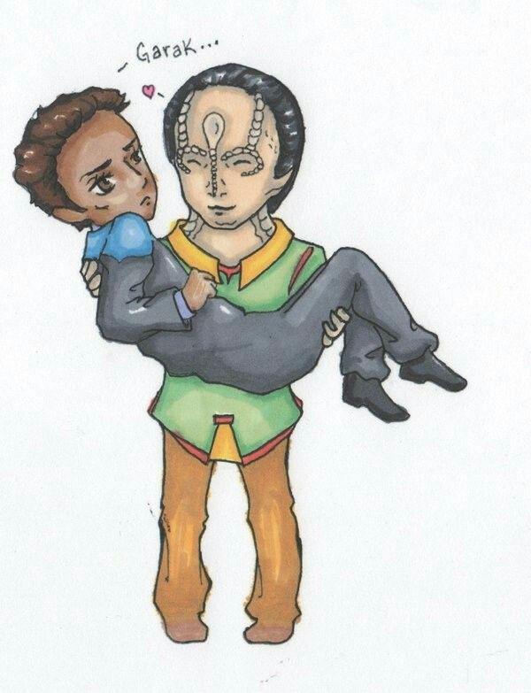 Pin by Jamila Richardson on Garak Bashir Pinterest - dr bashir i presume