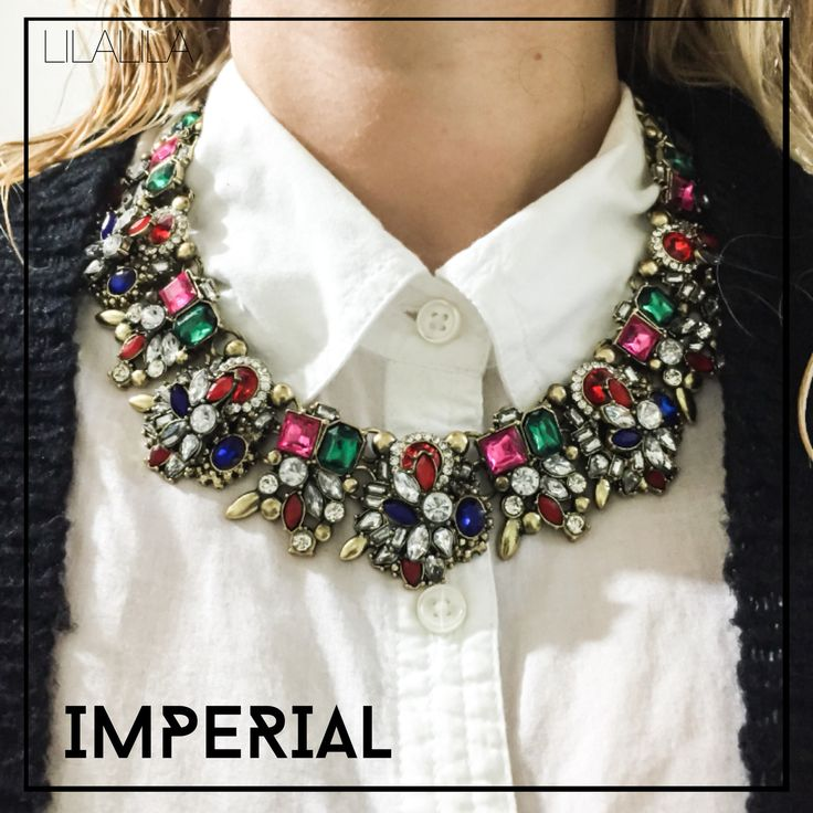 Imperial by LILALILA statement jewelry