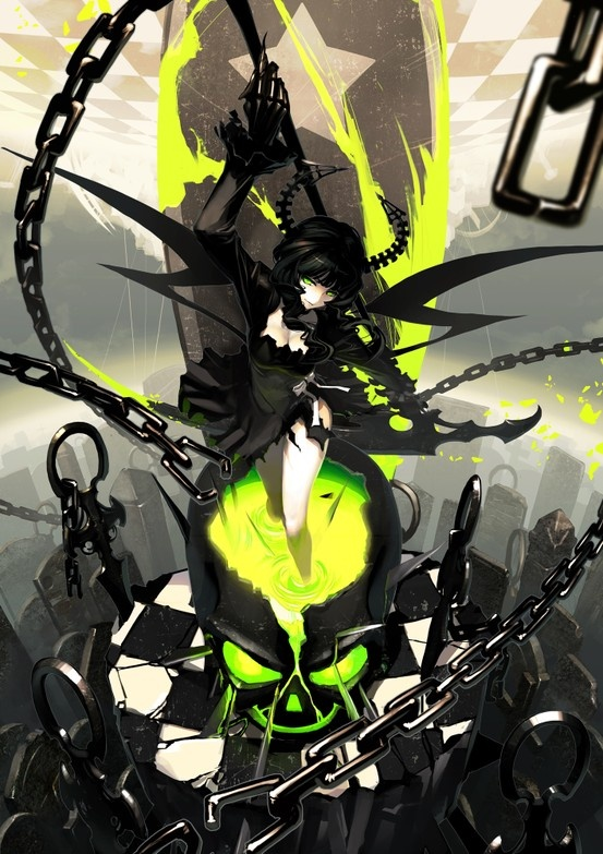 Black Rock Shooter #Anime #Illustration