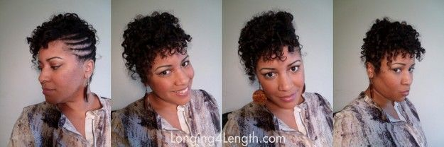 Wash Day | Transitioning Hairstyle Updo (Great for Relaxer Stretchers Too!)