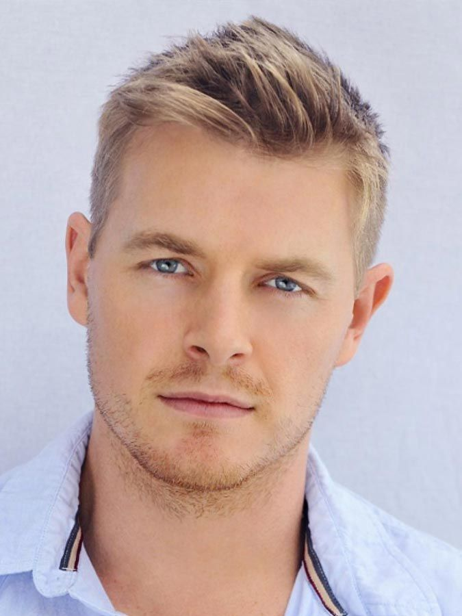 46++ Mens short blonde hairstyles inspirations