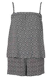 Spliced Print Playsuit #WITCHERYSTYLE