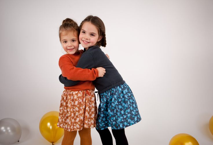 Collection CdeC AW 2014 - Week-ends d'automne. Robes Ouragan Pumpkin et Frog #cdec #lookbook #kidsfashion