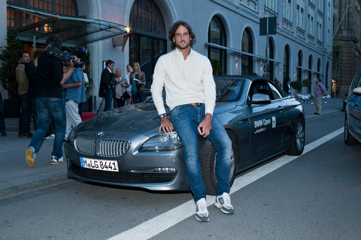 Feliciano Lopez at the BMW Open in Munich, Germany.  #tennisBmw Open, Feliciano Lopez, Munich Bmw, Players Parties, Hot Guys