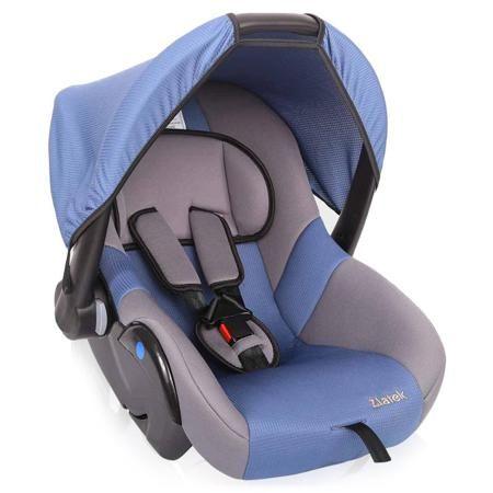 Автокресло Zlatek Colibri синий  — 1990р. ---------------------- Автокресло ZLATEK Colibri - современное и комфортное автокресло группы 0+ (до 13 кг), подходит для детей с рождения до 18 месяцев. Автокресло устанавливается  с помощью штатных ремней безопасности в положении против хода движения. Ребенок удерживается в автокресле с помощью внутренних трехточечных ремней с мягкими накладками. Автокресло имеет прочный каркас из ПНД-пластика с усиленной боковой защитой. Глубокий подголовник…