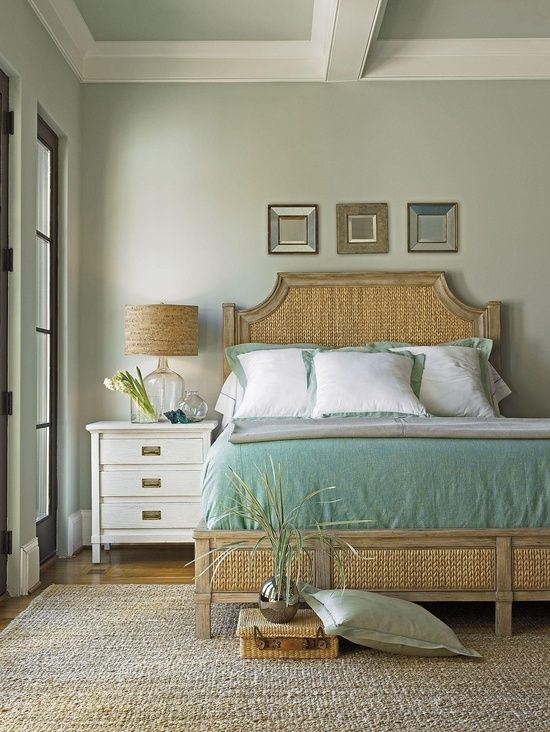 Headboard 37 Beautiful Beach And Sea Inspired Bedroom Designs | DigsDigs