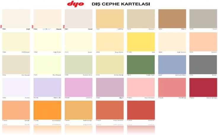 2014 Iç Cephe Boya Renkleri