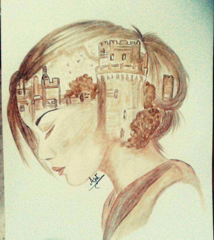 رسم بالقهوة علموا اولادكم الحب الحلال و ان المرأة وطن و الوطن لا يخ ان طفرة جوز Art Pictures Art Artsy