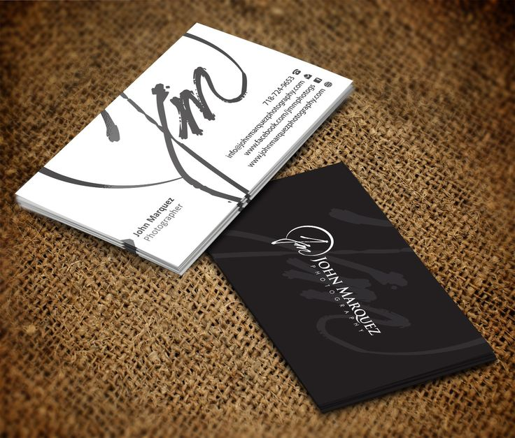 13 best business card ideas images on pinterest business cards business cards for jm photography john marquez photography 99designs reheart Gallery