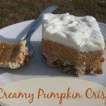 Throw Back Thursday ~ Creamy Pumpkin Crisp