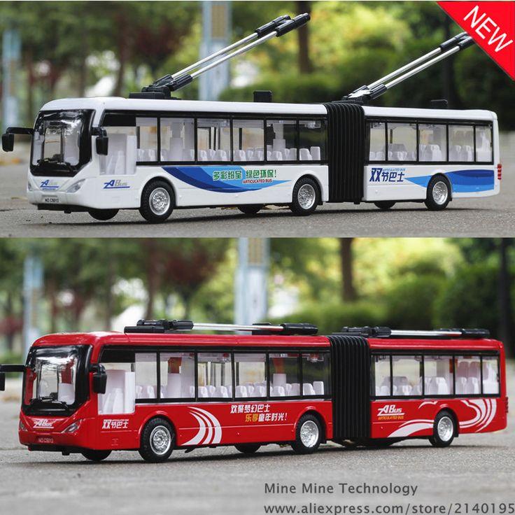 1:48 gratis pengiriman Beijing bus Paduan Model Diecast Mobil Tarik kembali Mainan Mobil model Mobil dengan cahaya & suara Elektronik Mainan Anak-anak hadiah