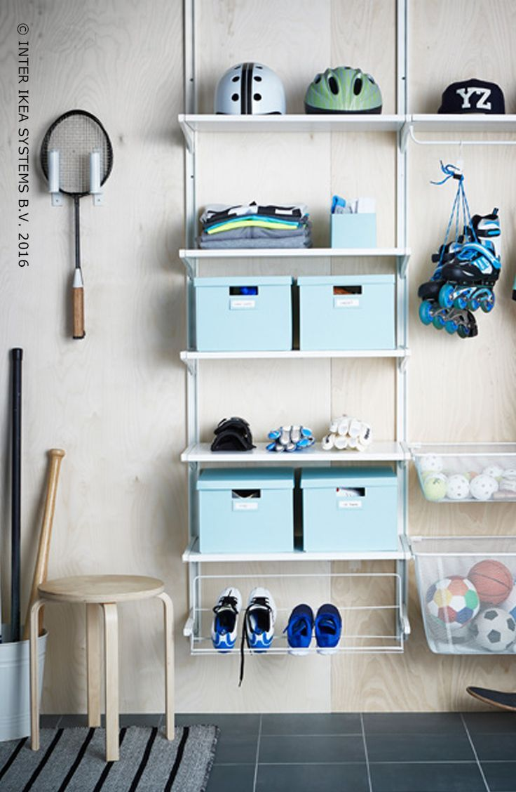 ALGOT systeem   IKEA IKEAnederland wooninspiratie inspiratie hal gang keuken bijkeuken opruimen opbergen slimme oplossing