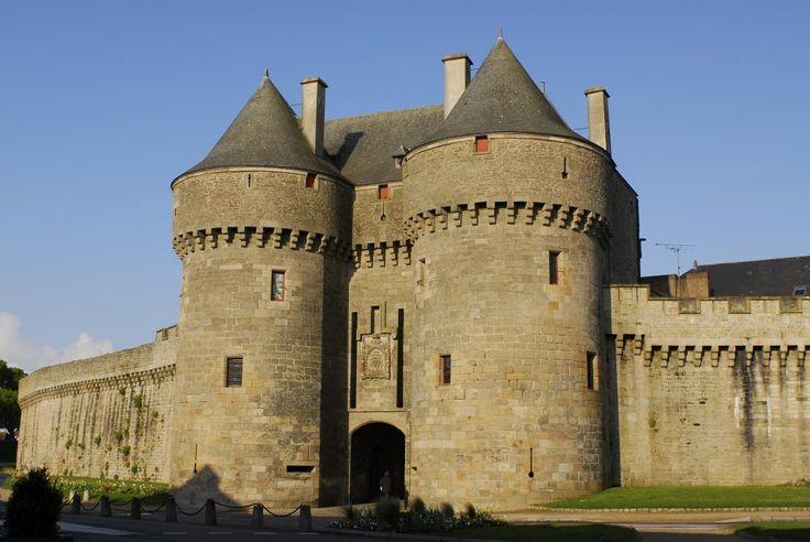 La cité médiévale   Ville de Guérande. Bretagne