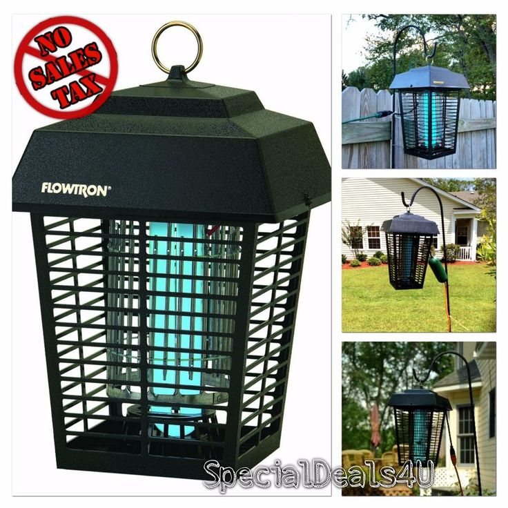 Electronic Flowtron Insect Killer 1/2 Acre Coverage Control Bug Mosquito Zapper #Flowtron