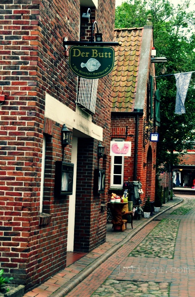 Hooksiel, a very small, charming place.