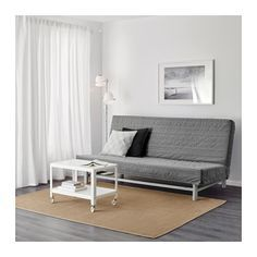 IKEA BEDDINGE LÖVÅS three-seat sofa-bed Readily converts into a bed big enough for two.