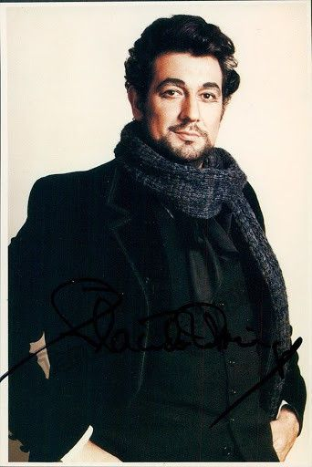 Signed photo postcard of the Spanish superstar tenor (b.1941) as Rodolfo in Puccini's La Bohème at the Metropolitan Opera. Size 4 x 6 inches.