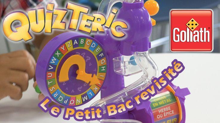 QuizTeric (Le Petit Bac revisité) - Démo du jeu de société en français
