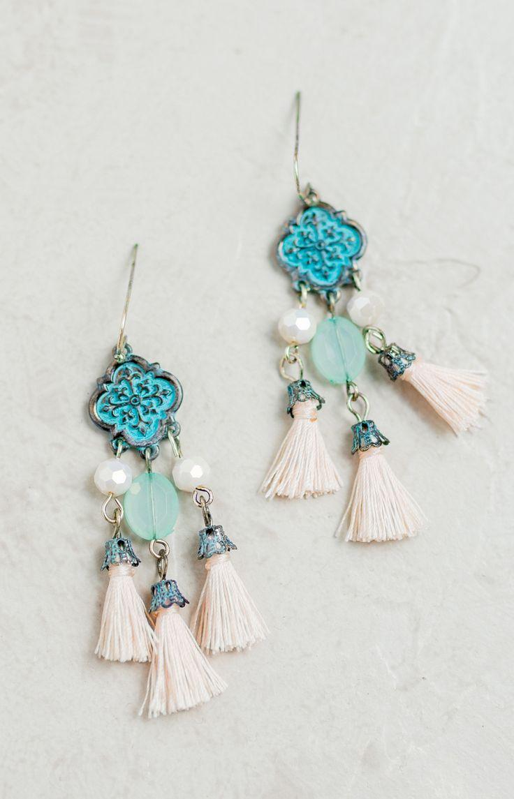 Atlantis Tassel Earrings - Shop Lizard Thicket