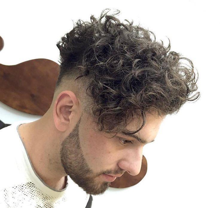 peinado rizado alvarovargasx_and larga para los hombres Franja larga