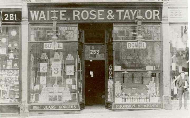 The first Waitrose Acton 1904