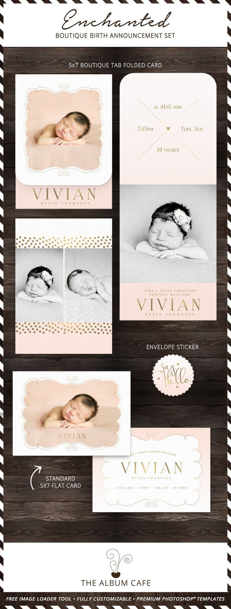 34 best Birth Announcements images – High End Birth Announcements