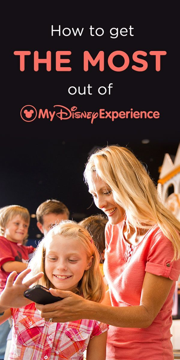 Whether using the app or your computer, check out these tips for using My Disney Experience