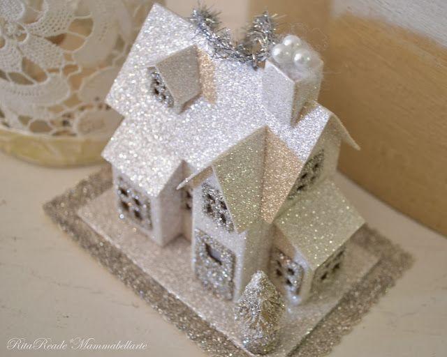 146 Best Images About Putz Houses On Pinterest Village