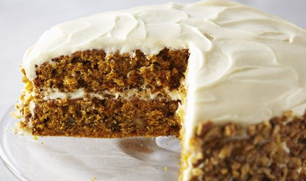 Carrot Cake with Cream Cheese Frosting : Bake with Anna Olson : The Home Channel