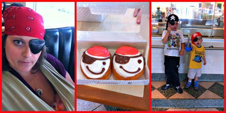 Krispy Kreme - Talk Like a Pirate Day!