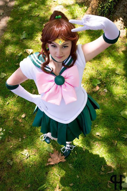 Sailor Jupiter cosplay (Sailor Moon) by Raincloud Cosplay, photo by Hnery Purdie