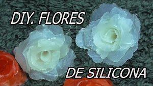 Las rosas son, probablemente, las flores más regaladas. Por eso, vamos a ver cómo hacer un diseño de silicona.