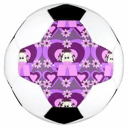 Ditsy Daisy Hawk Soccer Ball - craft diy cyo cool idea
