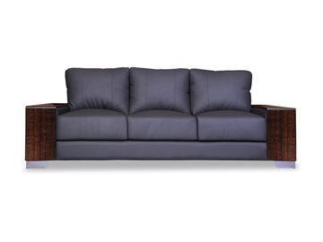 Laredo Leather Three Seater Sofa