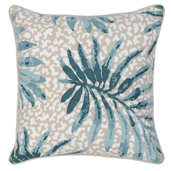 Villa Home Collection Cobi Pillow (865 ZAR) ❤ Liked On Polyvore Featuring  Home,