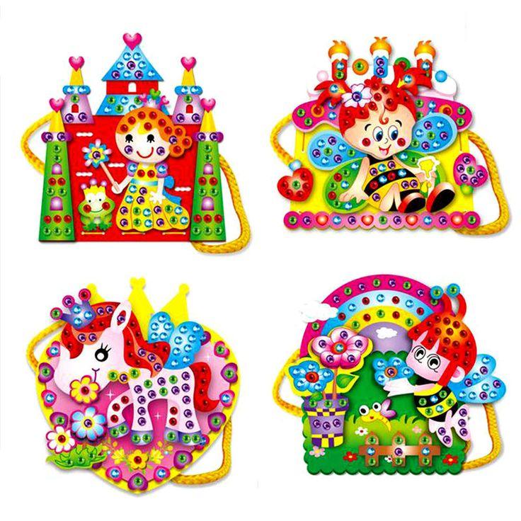 $1.13 (Buy here: https://alitems.com/g/1e8d114494ebda23ff8b16525dc3e8/?i=5&ulp=https%3A%2F%2Fwww.aliexpress.com%2Fitem%2FFree-Shipping-EVA-Cartoon-Handmade-Bags-DIY-Hand-sewn-Diamond-Educational-Toys-for-Children-K5BO%2F32522501420.html ) 1Pcs Colorful Assembly Toy Handbag Shoulder Bag EVA Cartoon DIY Hand-sewn Diamond Educational Toys for Girls Random Pattern for just $1.13