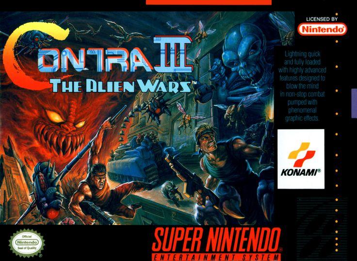 Contra 3: The Alien Wars - Super Nintendo (1992)
