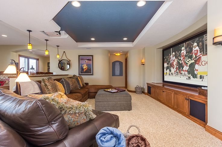 This Basement Theater Provides Plenty Of Space To
