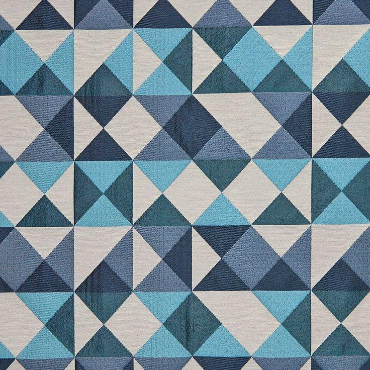 Superbe Mondial Tissus Plan De Campagne #8: Tissu Jacquard Kaleidoscope