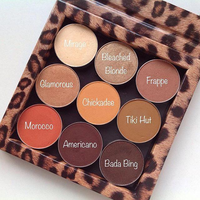Makeup Geek neutral eyeshadows! What's in your palette? Photo by @lyndalovesmakeup (Instagram).