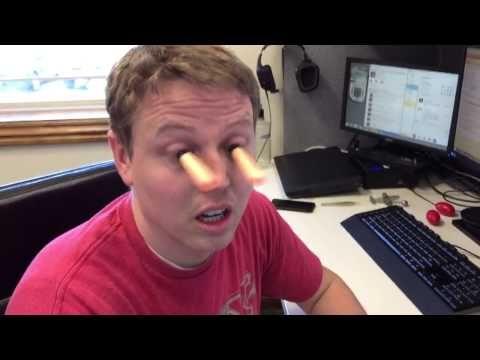 Nerf gun to the eye(Original) - YouTube