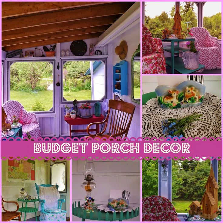33 best images about porch living on pinterest summer for Cabin decorating ideas on a budget