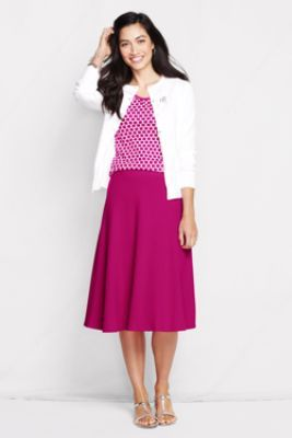 Women's Sport Knit Skirt from Lands' End (CORAL OR NAVY ONLY)