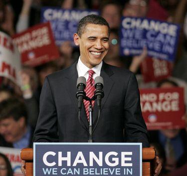 (2008) President-Elect Barack Obama's Election Night Victory Speech, Nov. 4th, 2008