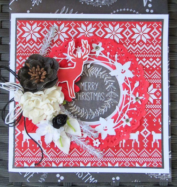 Artfull Crafts: Megan - Fancy Christmas Cards