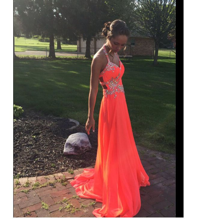Long Chiffon Prom Dress Cocktail Evening Party Dresses